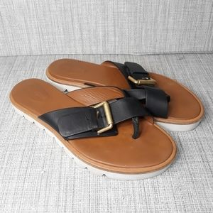 See By Chloe Black Leather Sandals 10